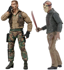 GI Joe and Jason Voorhees Action Figures